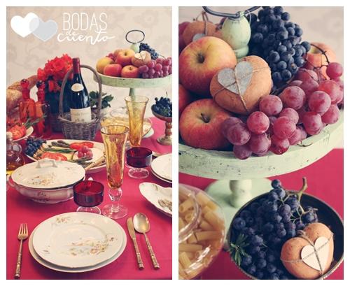 Una propuesta de decoración de mesas con sabor francés