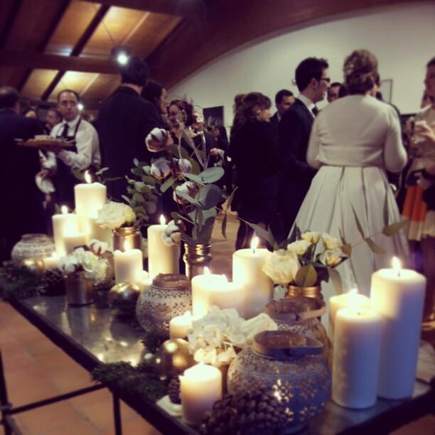 boda de invierno cóctel