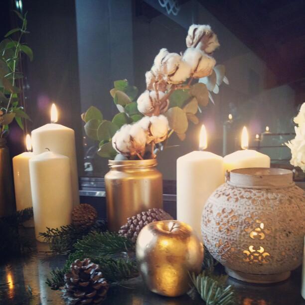 Decoración boda de invierno
