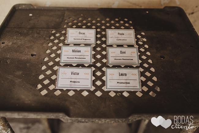 invitaciones de una boda industrial 3