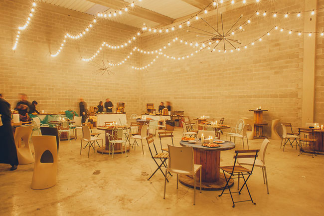 Boda industrial for Budas decoracion interior