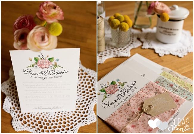 invitaciones de boda campestre