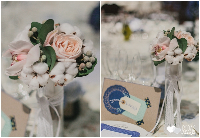 una boda decorada en azul 4
