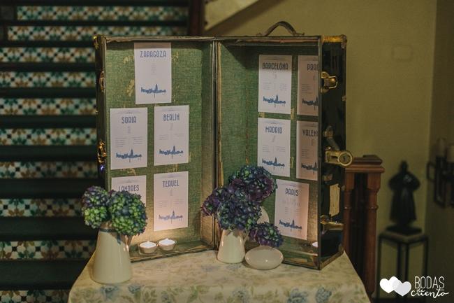 una boda decorada en azul bodas-de-cuento-