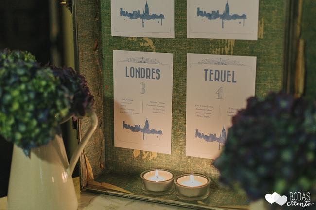 una boda decorada en azul bodas-de-cuento-wedding-planner