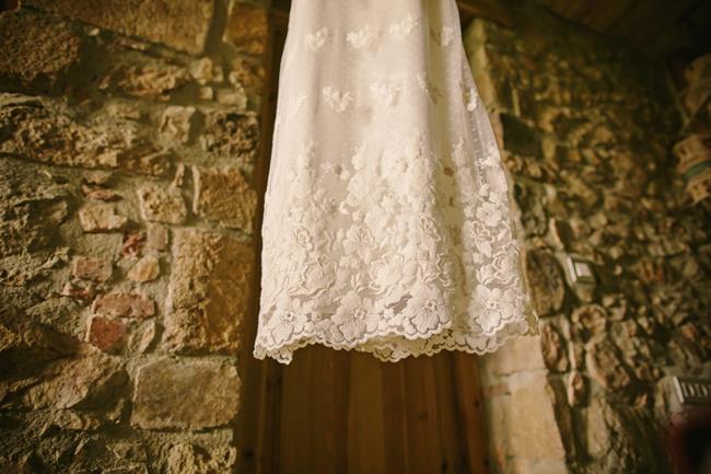 vestido boda campestre rústica inspiración italiana girona wedding planner barcelona Bodas de Cuento