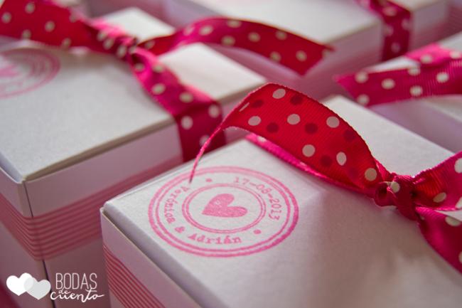 Detalles para invitados, Bodas de Cuento wedding planner, Boda Madrid