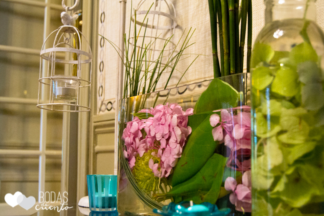 Bodas de Cuento wedding planner, hortensias, boda Madrid