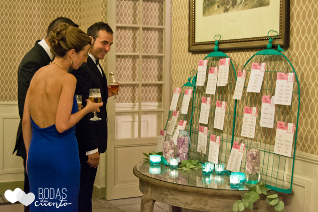 Sitting plan, Bodas de Cuento Madrid wedding planner