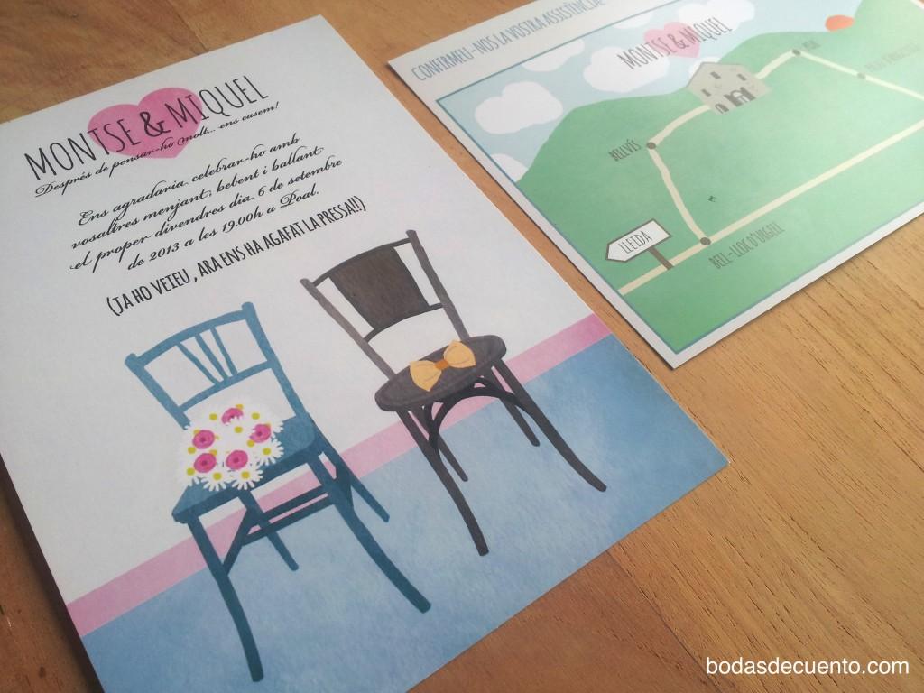 Organización y diseño: Bodas de Cuento wedding planners, invitaciones de boda. Srta. Edwina para Bodas de Cuento www.bodasdecuento.com