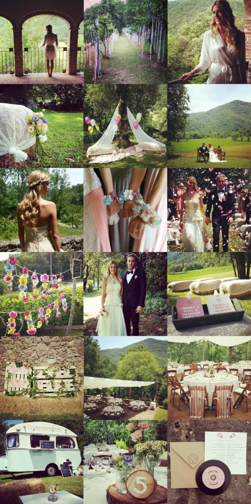 Boda en el campo en Girona en finca particular wedding planner Girona y Barcelona Bodas de Cuento www.bodasdecuento.com