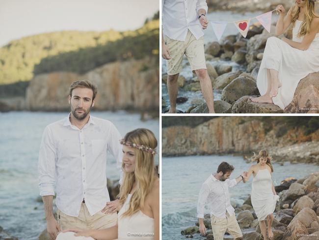 Wedding Planner Girona www.bodasdecuento.com. Preboda en la Costa Brava por Mónica Carrera