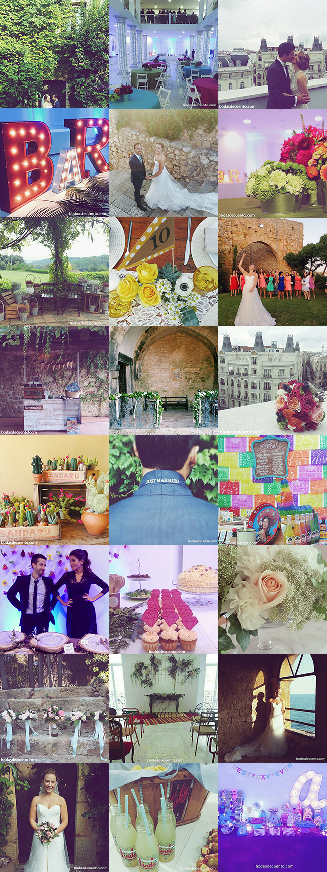 www.bodasdecuento.com organización y diseño de bodas en madrid, tarragona y girona