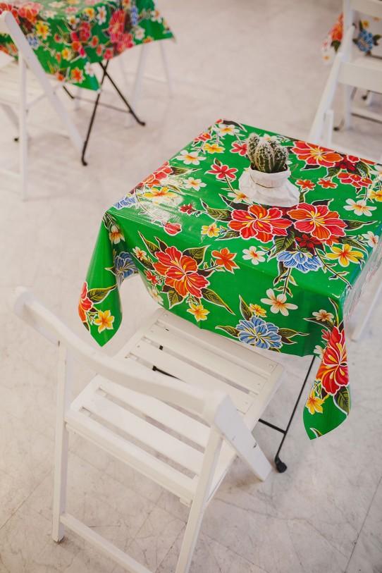 mesa decoración mexicana boda www.bodasdecuento.com