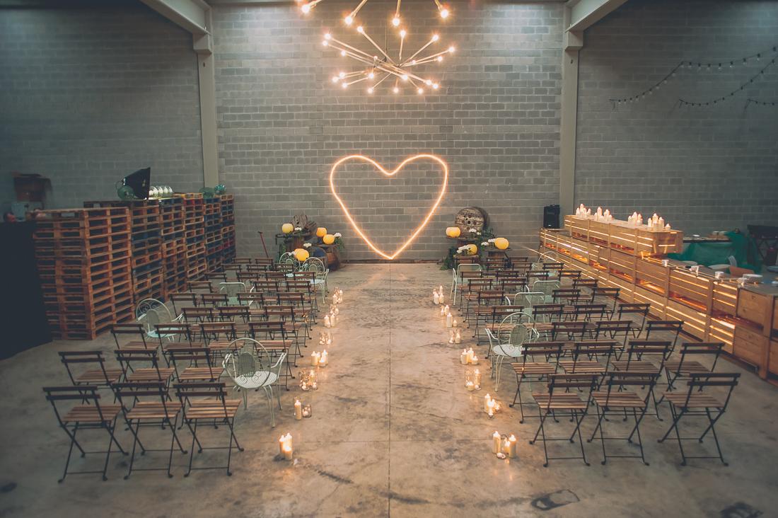 ceremonia boda industrial www.bodasdecuento.com