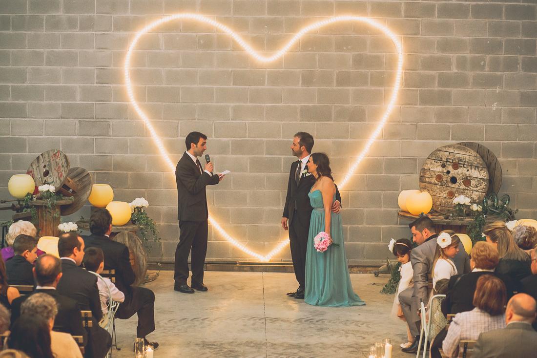 boda en una nave industrial www.bodasdecuento.com