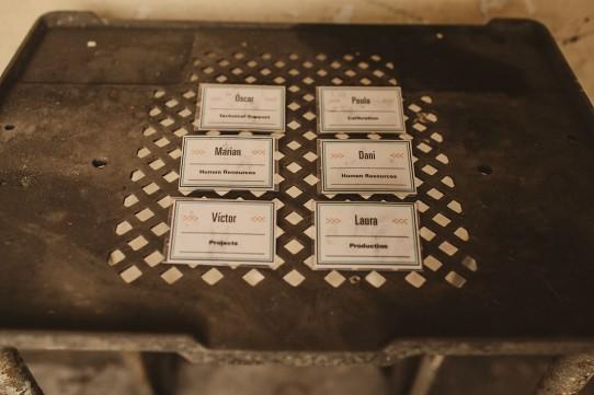 identificación invitados boda www.bodasdecuento.com