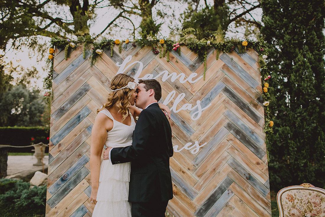 beso ceremonia www.bodasdecuento.com
