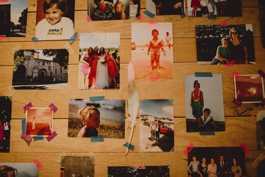 panel recuerdos novios www.bodasdecuento.com