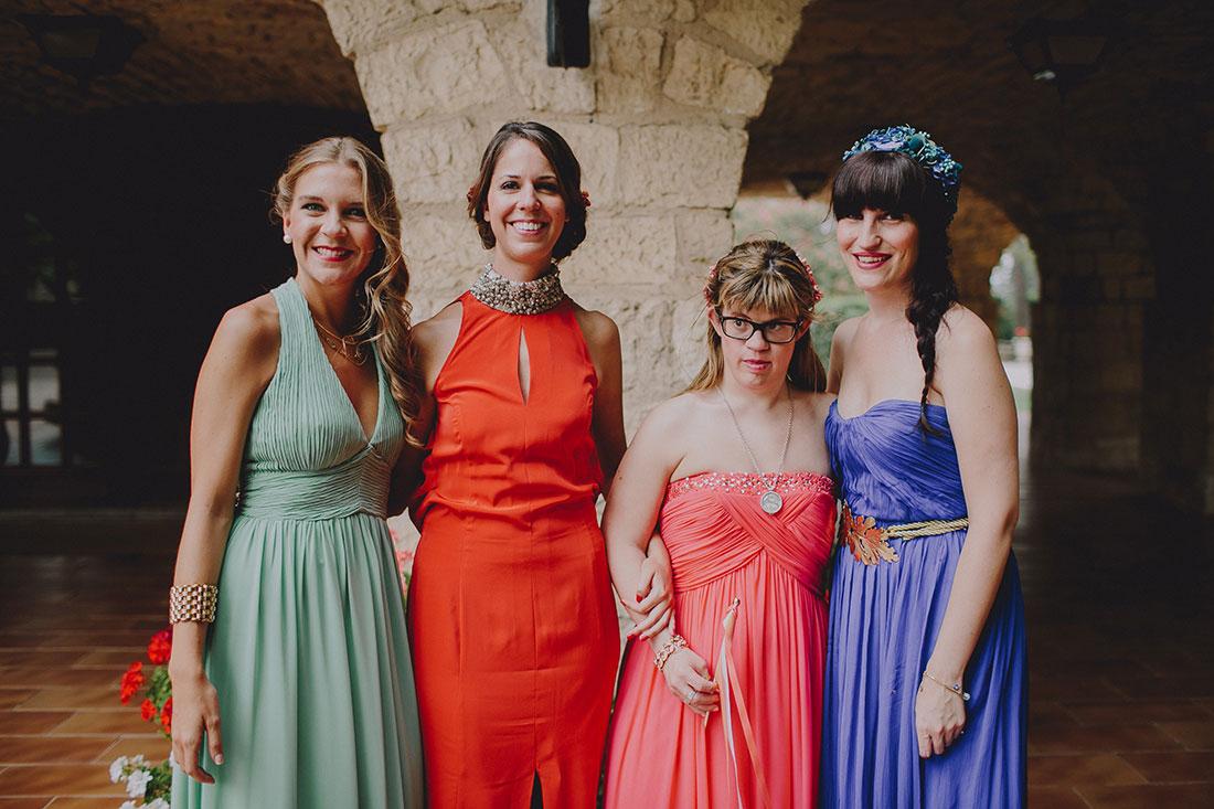 damas de honor zaragoza www.bodasdecuento.com