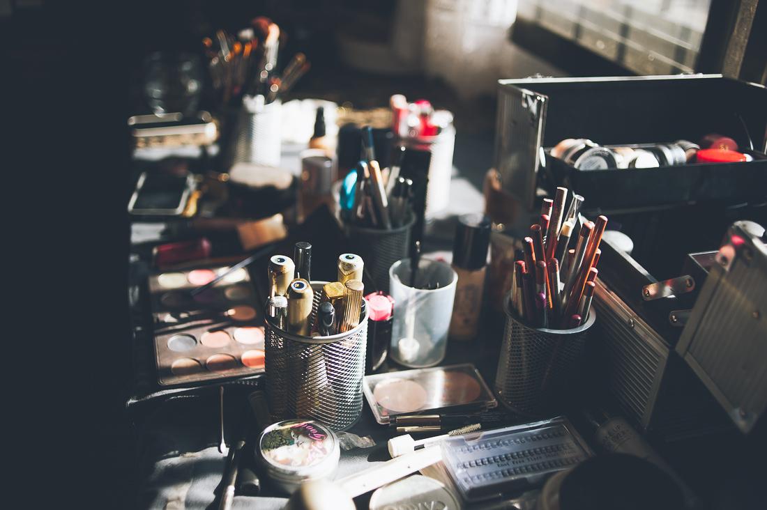 maquillaje novia industrial www.bodasdecuento.com