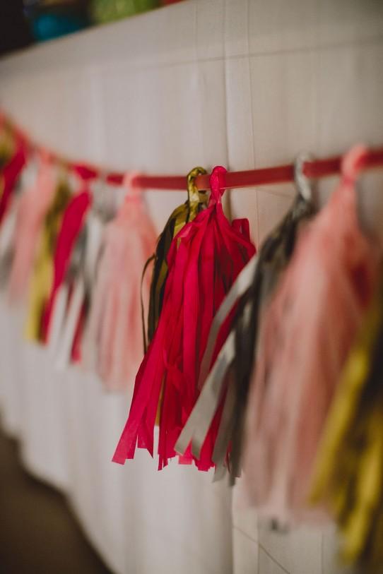 guirnalda de papel boda www.bodasdecuento.com