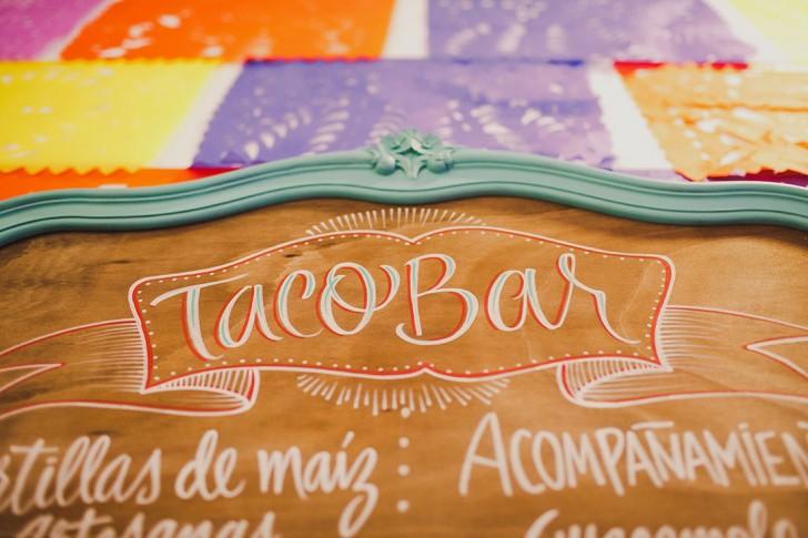 taco bar en boda madrid wedding planner www.bodasdecuento.com