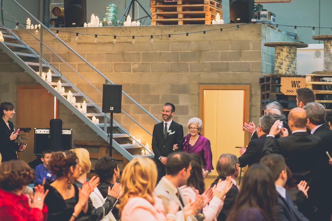 ceremonia civil boda industrial www.bodasdecuento.com