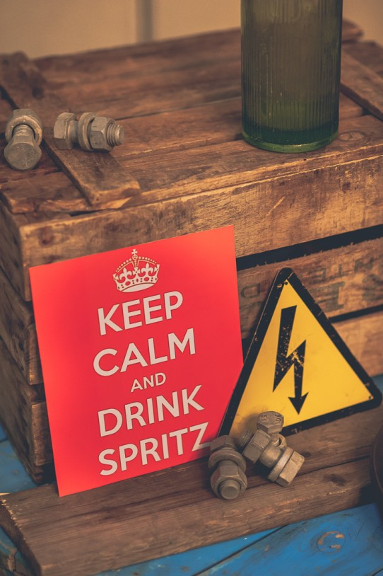 keep calm and drink spritz www.bodasdecuento.com