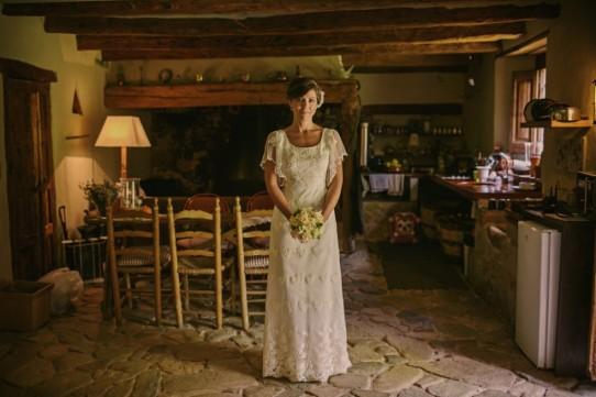 vestido de novia otaduy www.bodasdecuento.com