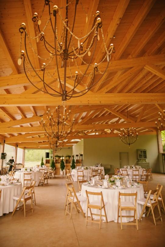 banquete boda campestre www.bodasdecuento.com