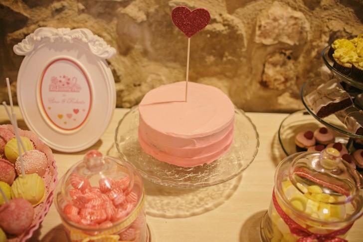 pastel boda rosa www.bodasdecuento.com