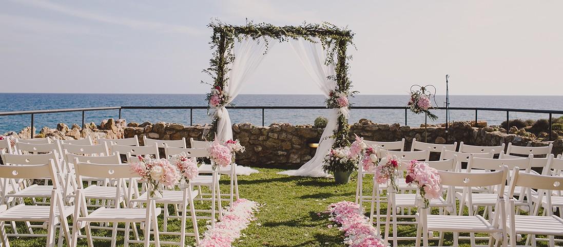 decoracion altar ceremonia arco www.bodasdecuento.com