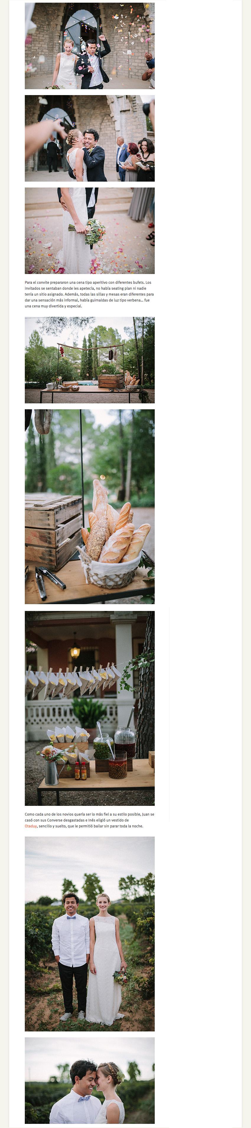boda inés y juan muy molón www.bodasdecuento.com