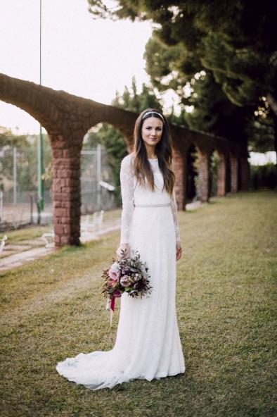 vestido de novia jesus peiró www.bodasdecuento.com