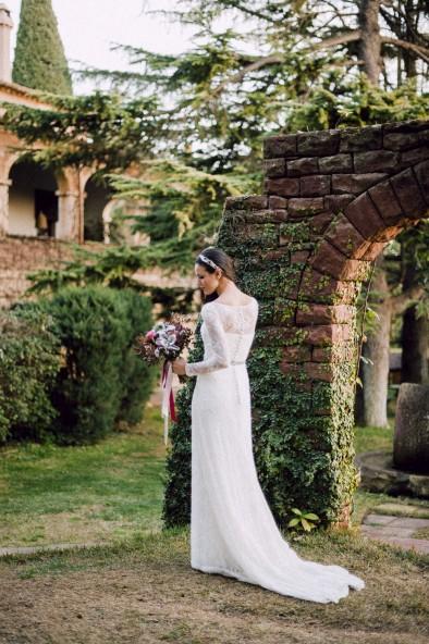 vestido novia jesus peiro www.bodasdecuento.com