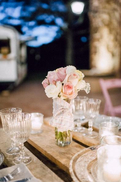 centro de mesa boda www.bodasdecuento.com