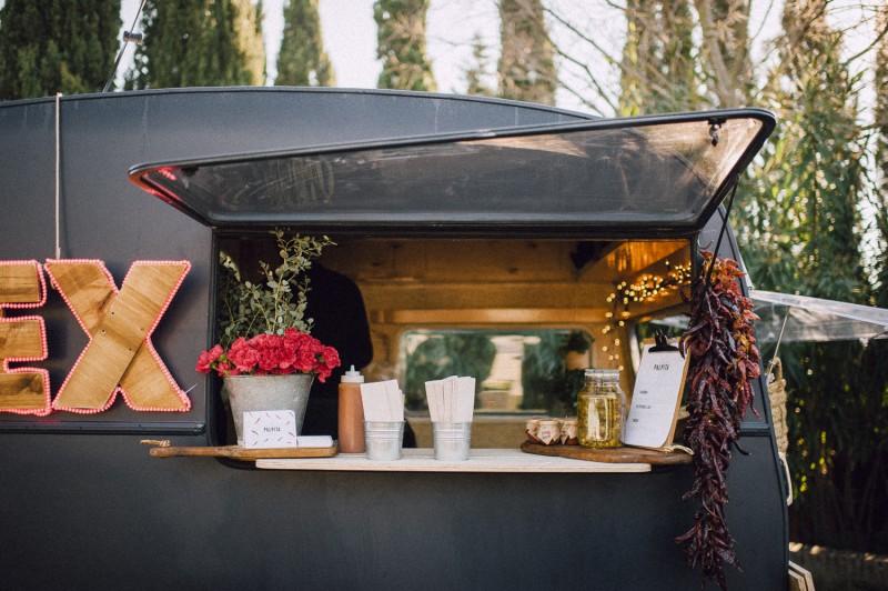 foodtruck wedding www.bodasdecuento.com