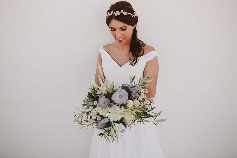 ramo novia mediterráneo www.bodasdecuento.com