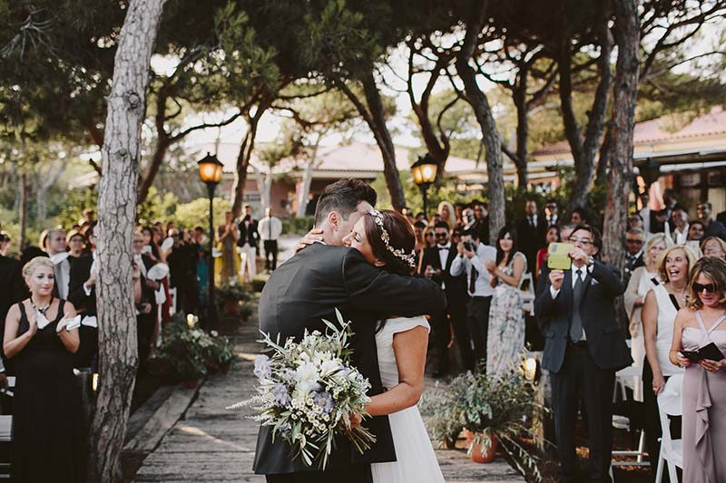 outdoor wedding barcelona www.bodasdecuento.com