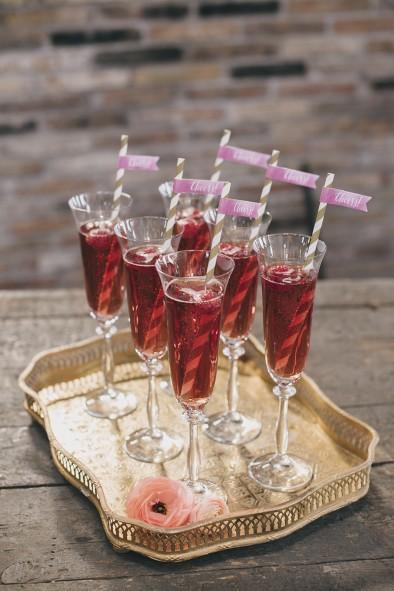 brindis cava rosado www.bodasdecuento.com