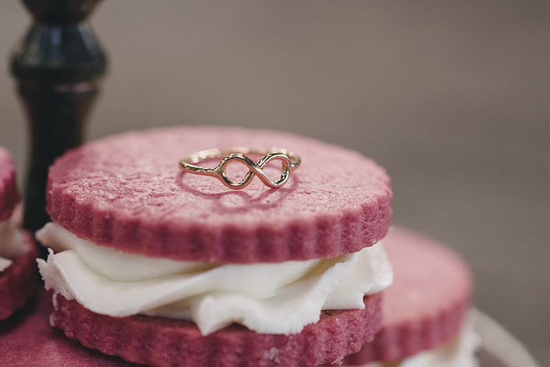 anillo infinito boda www.bodasdecuento.com