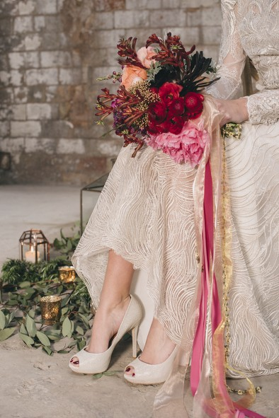 zapatos novia brillantes www.bodasdecuento.com