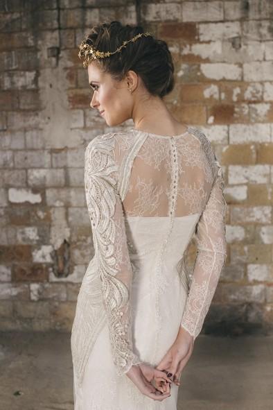 vestido espalda novia www.bodasdecuento.com