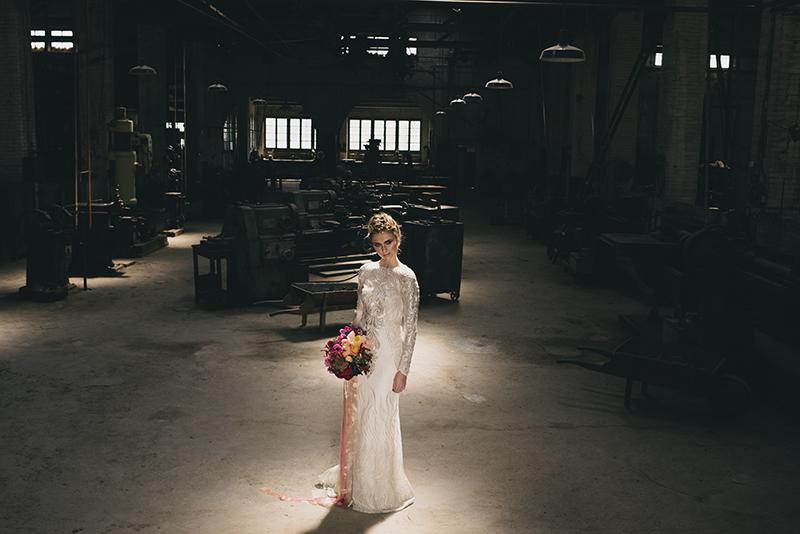 boda nave industrial www.bodasdecuento.com