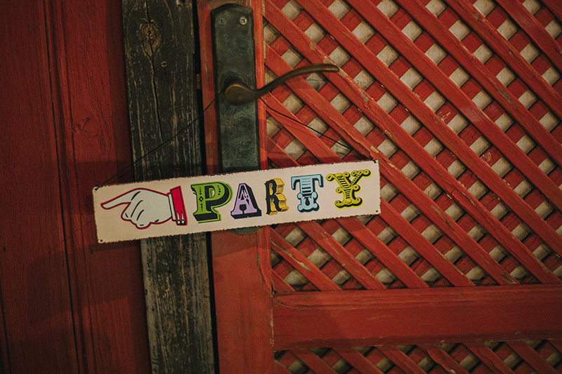 let´s party recepción invitados www.bodasdecuento.com