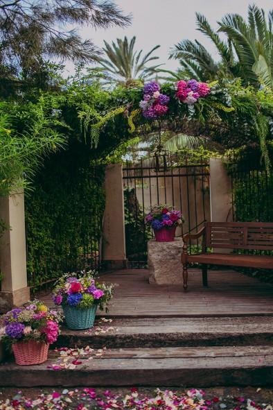 decoración ceremonia up recepción invitados www.bodasdecuento.com