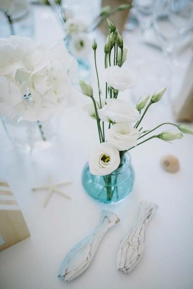 decoración mesa boda marinera www.bodasdecuento.com