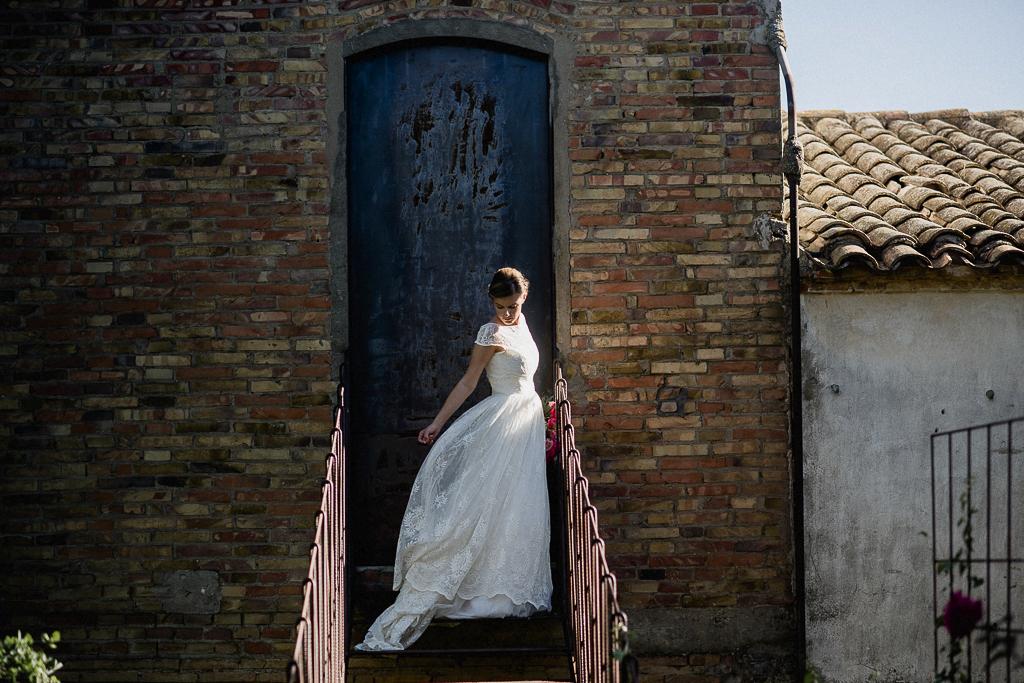 Novia romántica Jesus Peiro www.bodasdecuento.com