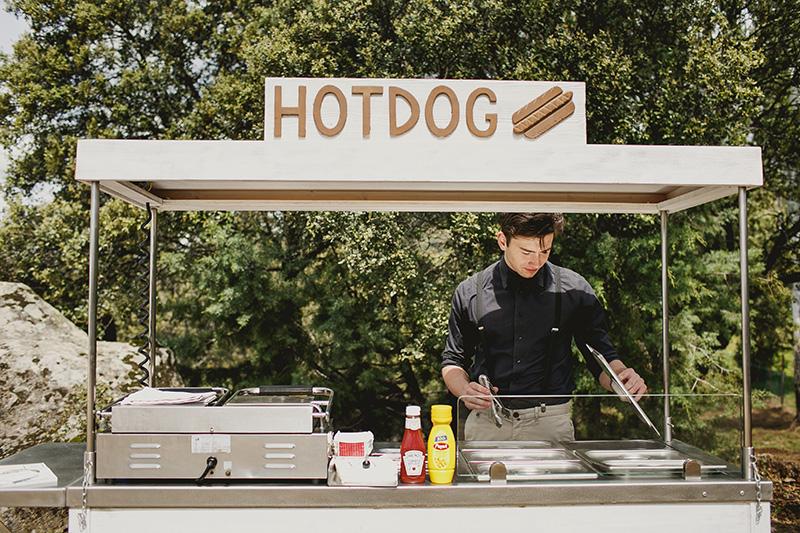 hot-dog-bodas www.bodasdecuento.com